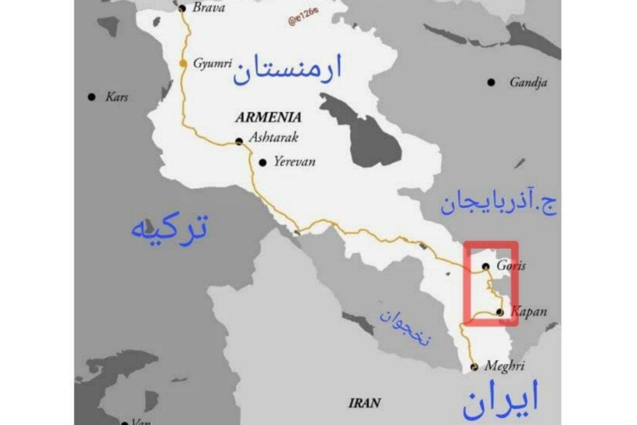 IMG 20211001 214635 948 پشت پرده طرح آنکارا، باکو و اسلام آباد برای کنترل کامل ارتباط تجاری ایران با اروپا+نقشه