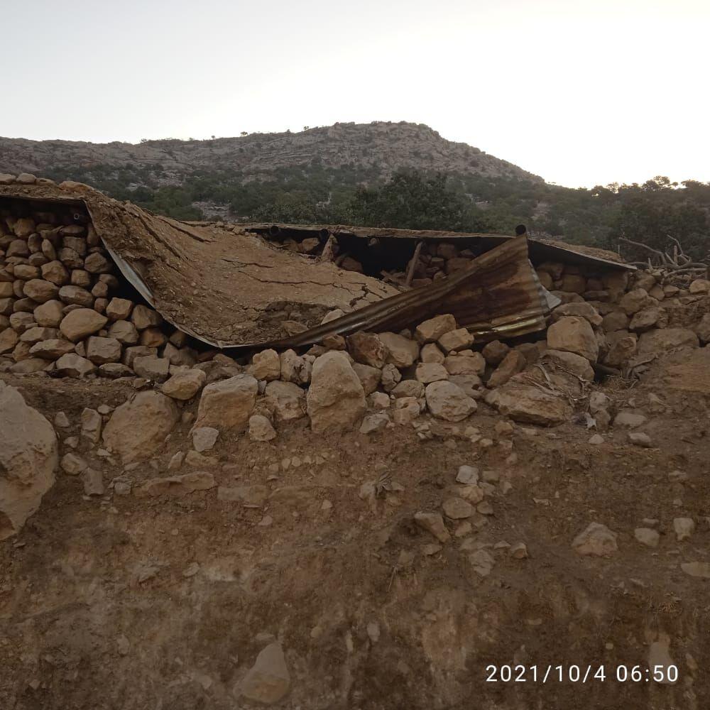IMG 20211007 093833 619 زمین لرزه به برخی آثار تاریخی شهرستان اندیکا آسیب وارد کرد